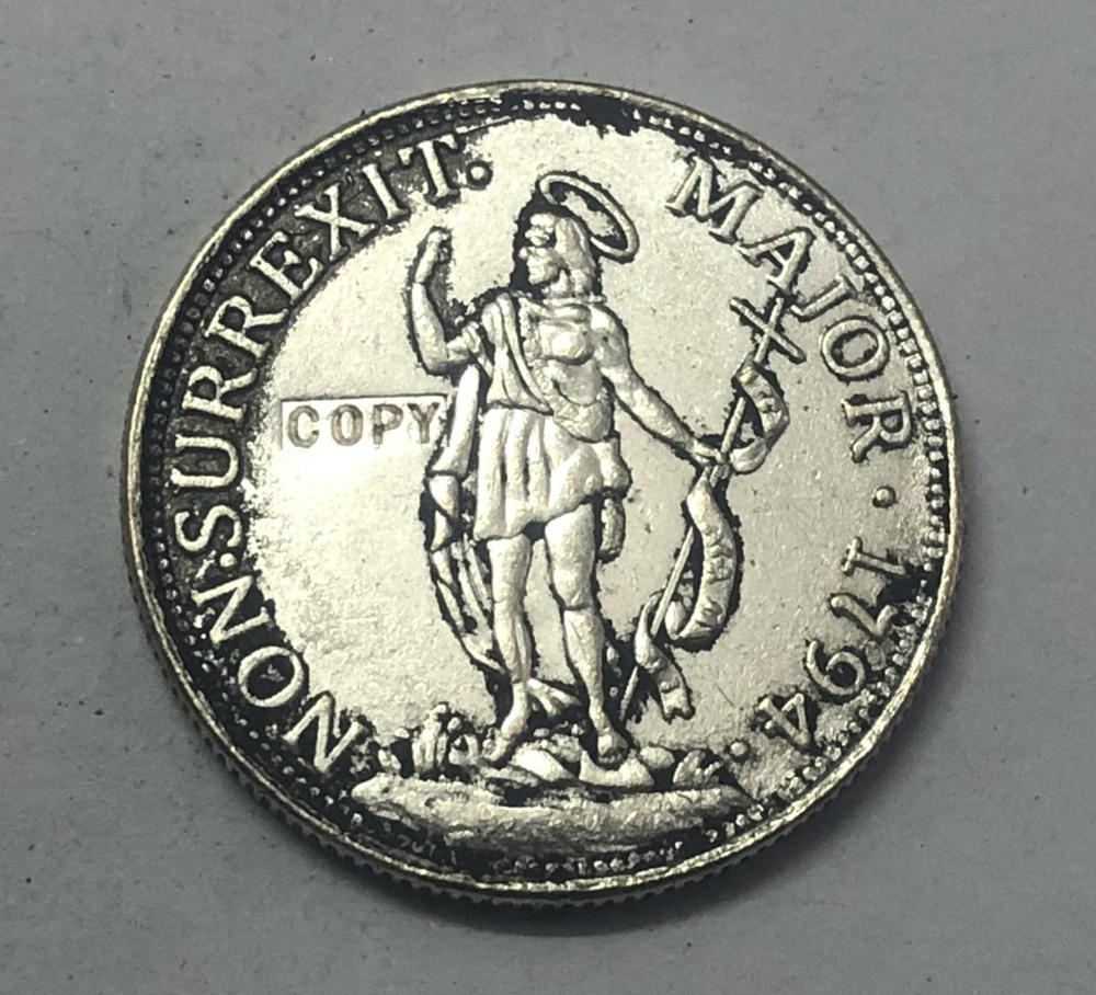 República de Genoa 1794 (Estados italianos) 1 Lira