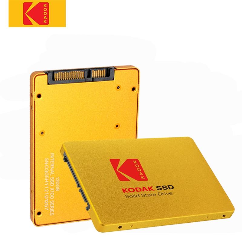 KODAK X100 2.5 INCH SATA3 120GB SSD Disk HDD SATA III SSD 480GB Metal Internal Solid State Hard Drive for laptop computer