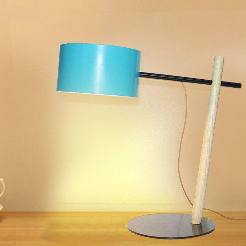 simples e moderno criativo lampada de mesa quarto lampada de cabeceira nordic moda