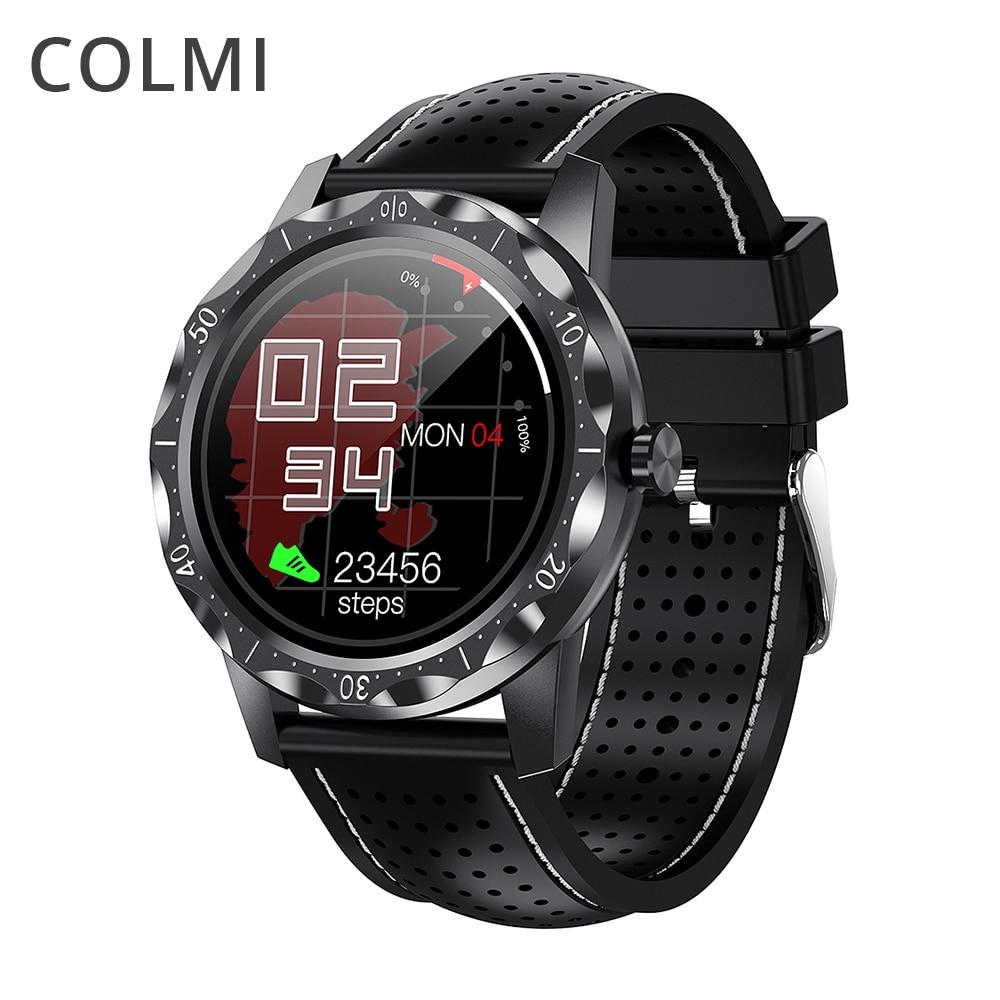 COLMI SKY 1 Plus 2021 ساعة ذكية الرجال IP68 مقاوم للماء النوم المقتفي الرياضة اللياقة البدنية بلوتوث Smartwatch للهاتف أندرويد iOS