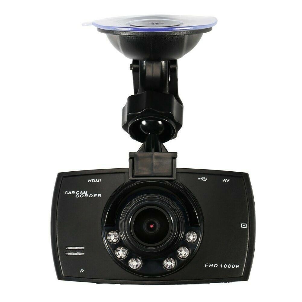 Автомобильный видеорегистратор Full Hd 1080p, видеорегистратор с углом обзора 140 градусов, видеорегистратор с ультра-широким углом обзора для ав...