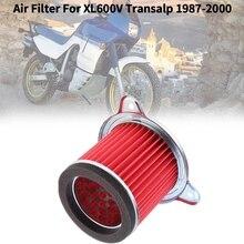 Motorcycle Air Filter Air Intake Filter Cleaner System Fit for Honda Transalp XL600V XL600 V 1987-2000