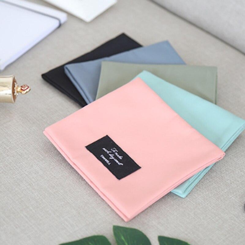 Mini bolsa de almacenaje de pañuelos sanitarios nueva bolsa plegable portátil impermeable de gran capacidad tía toallero bolsa de viaje ^