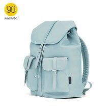 2020 nouveauté NINETYGO 90FUN banlieue Nylon dames sac à dos femmes 14 pouces ordinateur portable étanche mode Style Nylon sac