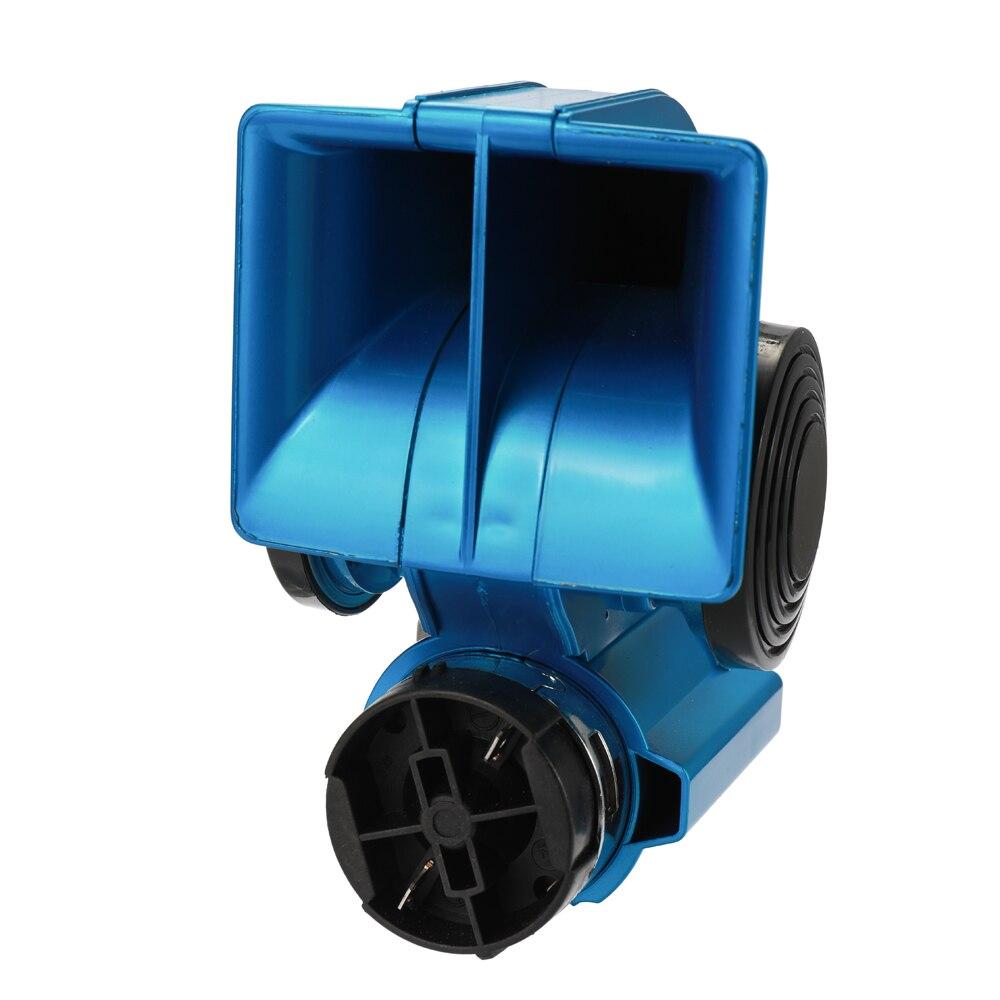 Bocina de aire de Caracol eléctrica automática, doble tono, bocina de aire compacta para coche, compresor de 12V ruidoso de 150dB para camión, coche, autobús, furgoneta y motocicleta