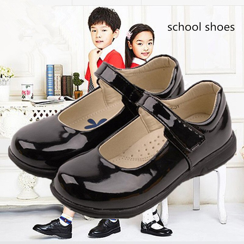 pink black red children girls shoes for kids student leather shoes school black dress shoes girls 4 5 6 7 8 9 10 11 12 13 14t Kids school shoes for girls princess Shoes Student Performance chaussure fille Black Dress shoes girls 5 6 7 8 9 10 11 12 13-18T