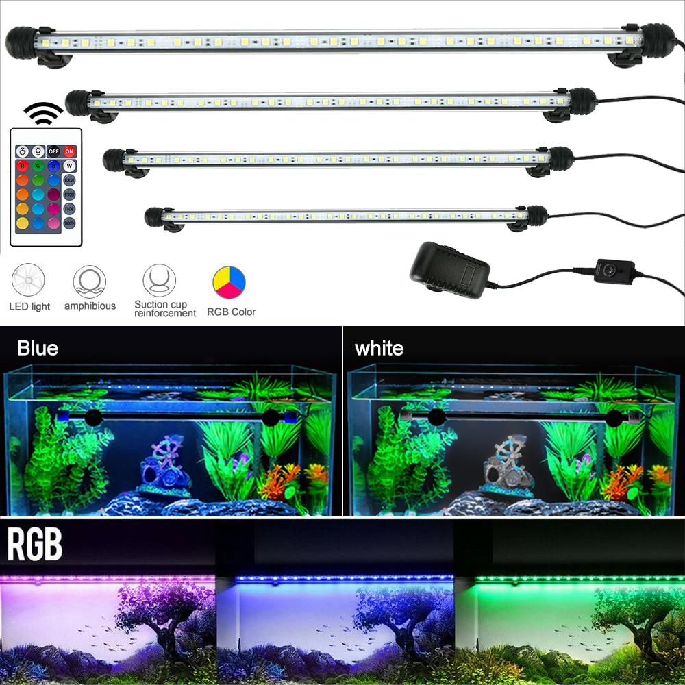 19/ 29 / 39 / 49 CM Submersible Underwater Clip Lamp  Decor Lamp LED Aquarium Lights Waterproof Fish Tank Light