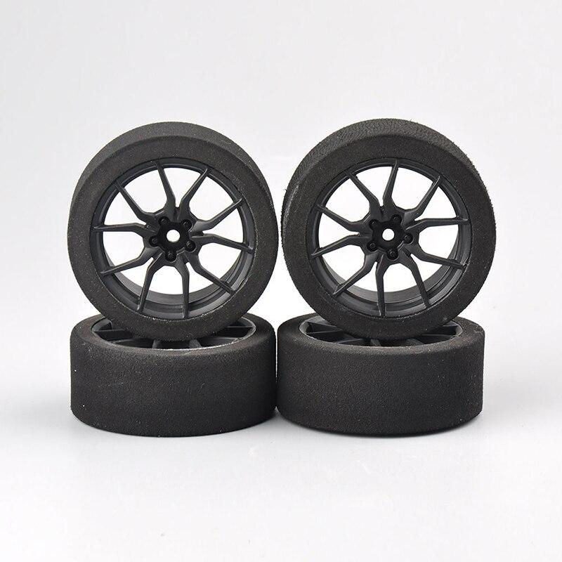 RC 4 шт. поролоновые шины Колесные диски 12 мм шестигранный для HSP HPI 1:10 Внедорожный гоночный автомобиль