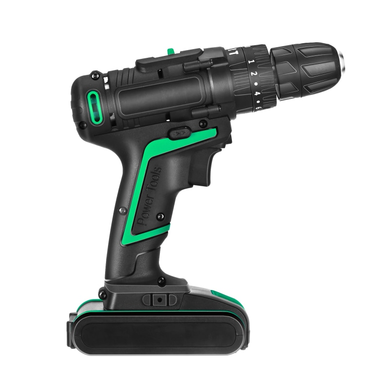 25-Volt Max Lithium Ion Cordless Drill With Electric Jigsaw Adapter For Wood Cutting Steel Pipe Cutting Plastics Cutting enlarge