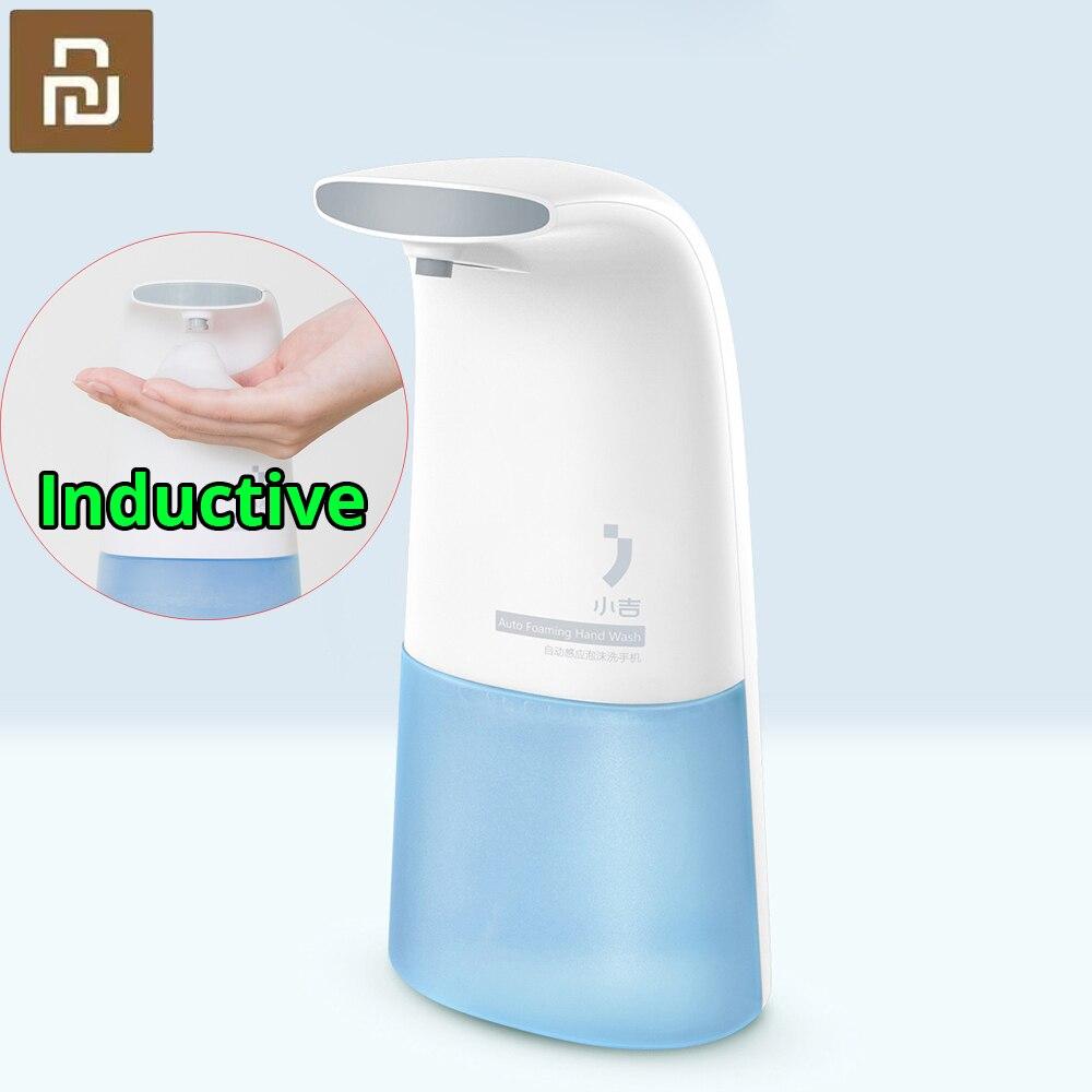 ل شاومي Xiaoji السيارات التعريفي رغوة غسل اليد غسالة التلقائي الصابون موزع 0.25s الأشعة تحت الحمراء التعريفي للطفل والأسرة