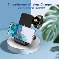 3 in 1 fast wireless charger dock station fast charging for iphone 12 12 pro max 11 xr xs for apple watch 3 4 5 for airpods pro