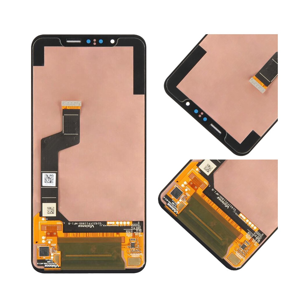 """6.21"""" AAA+ LCD For LG G8S ThinQ LCD G810 LMG810 LMG810EAW LCD Display Touch Screen Digitizer Assembly Frame for LG G8S LCD enlarge"""