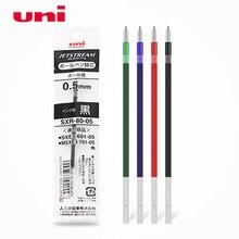 6 pièces/lot recharges Uni SXR-80-05 pour stylo bille MSXE5-1000-05 0.5mm-4 couleurs (noir, rouge, bleu, vert) au choix