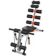 6-en-1 multifonction couchée conseil tirer corde banc croque abdominale Machine abdominale chaise maison gymnastique Sport Fitness équipement HWC