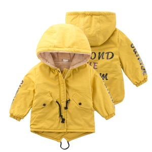 New thicking coat80-120cm Cute Printing Fish Fleece Kids Winter Jacket Boys Outerwear Clothing Girls Coats Velvet Baby Outerwear