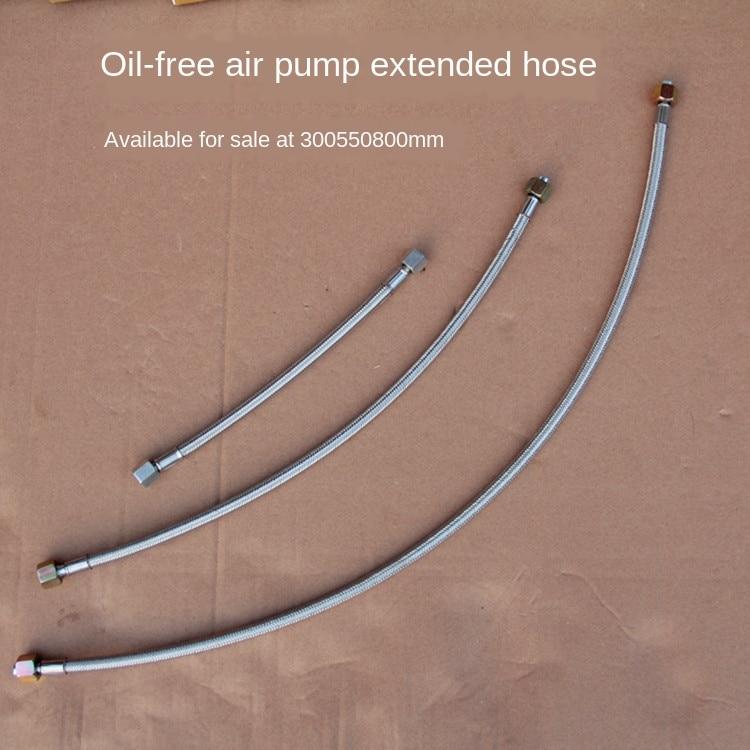 Air compressor accessories silent oil-free hose air pump high pressure tube high temperature tube outlet pipe