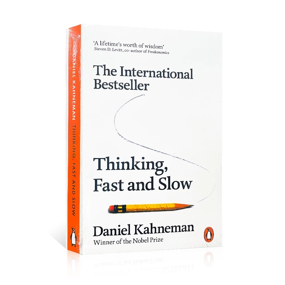 Daniel Kahneman Thinking,fast and Slow Reading English Books for Adult A lifetimes worth of wisdom Economic management books