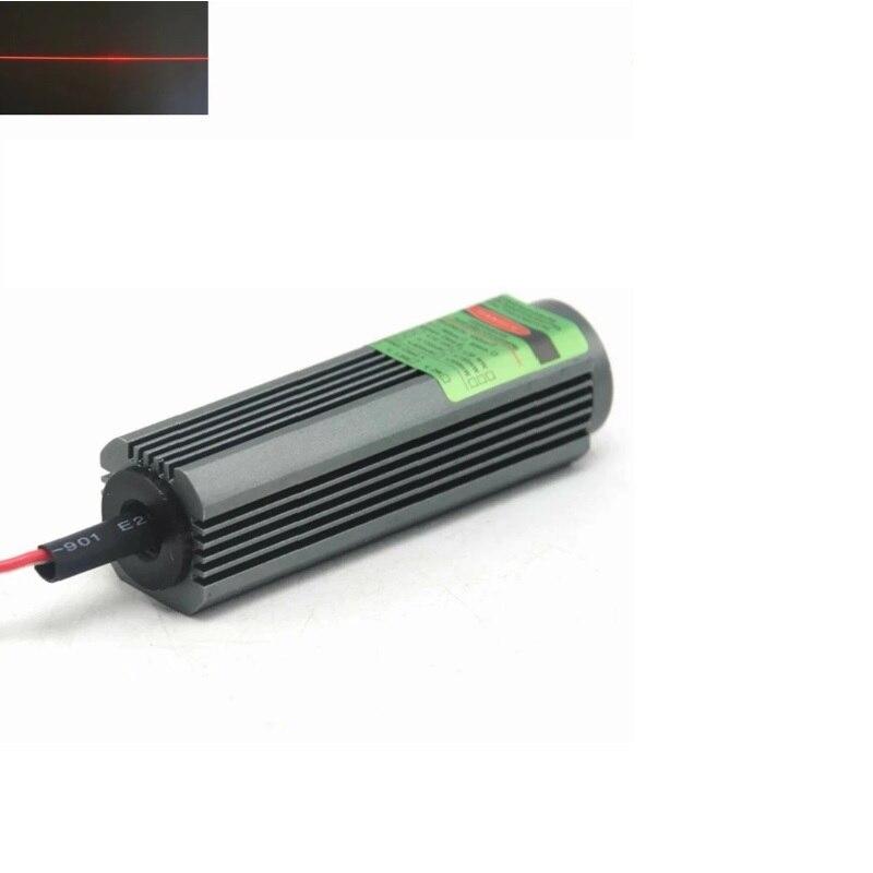 Водонепроницаемый 650 нм 100 мВт красный лазер модуль линия луч свет 5 В 25x75 мм с кабелем