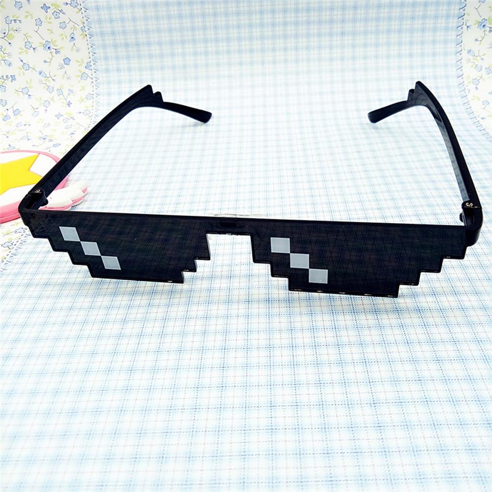 Фото - Очки Thug Life 8 Bit Pixel Deal With It солнцезащитные очки унисекс солнцезащитные очки для детей подарок на день рождения Рождественский подарок солнцезащитные очки pixel crew deal with it