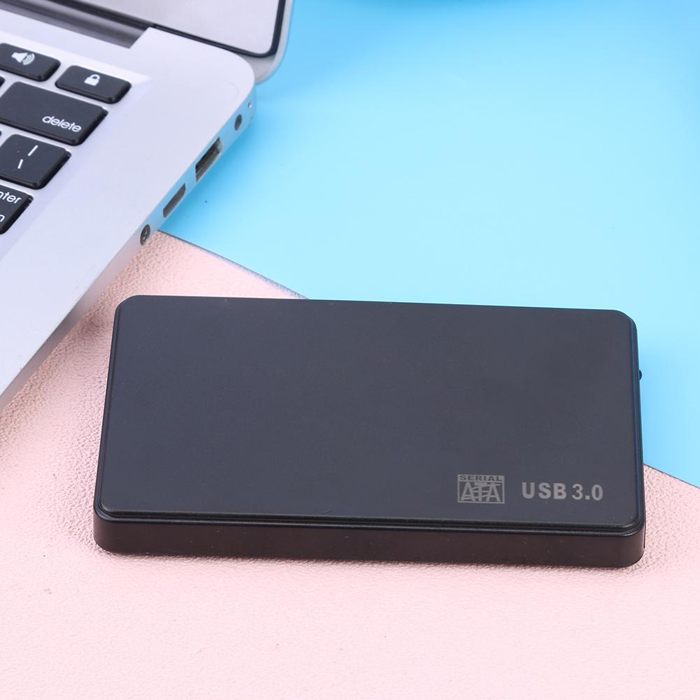 2.5 inch External Hard Drive Case SATA USB3.0 Adapter 5Gbps Hard Disk Box for PC Compatible XP/Vista/ Win7/win8/SE