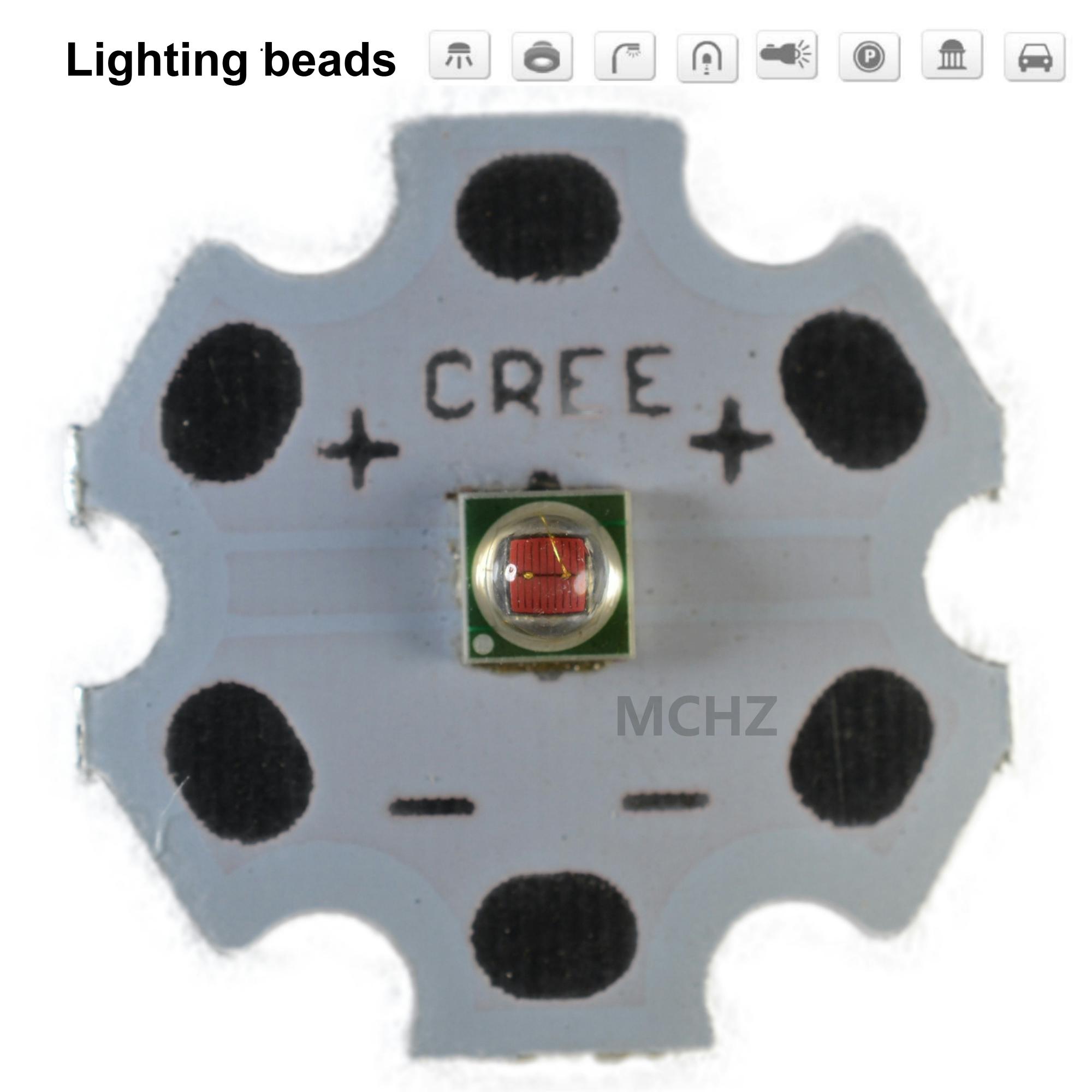 100pcs 3535 2.5W 2V-2.6V Perpetual lamp 620-625nm