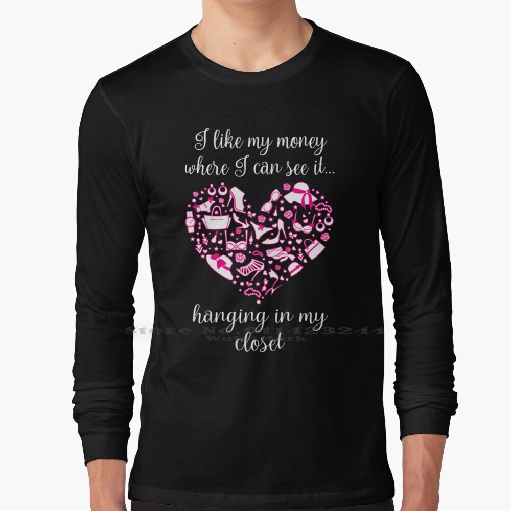 I Like To See My Money Long Sleeve T Shirt Tee Carrie Bradshaw Sex And The City Sarah Parker