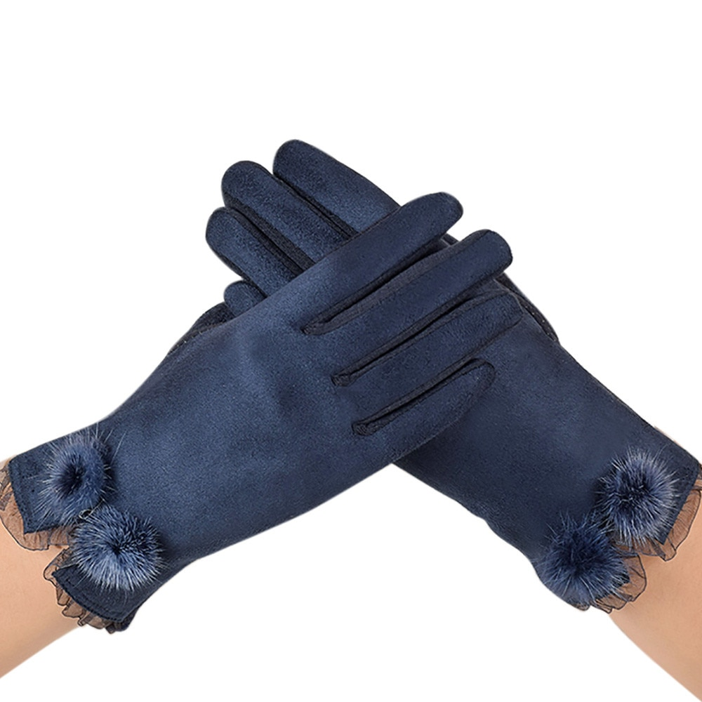 Зимние перчатки, Осенние Теплые Перчатки, варежки на запястье, бархатные теплые перчатки, мягкие толстые варежки на запястье, перчатки с зак...