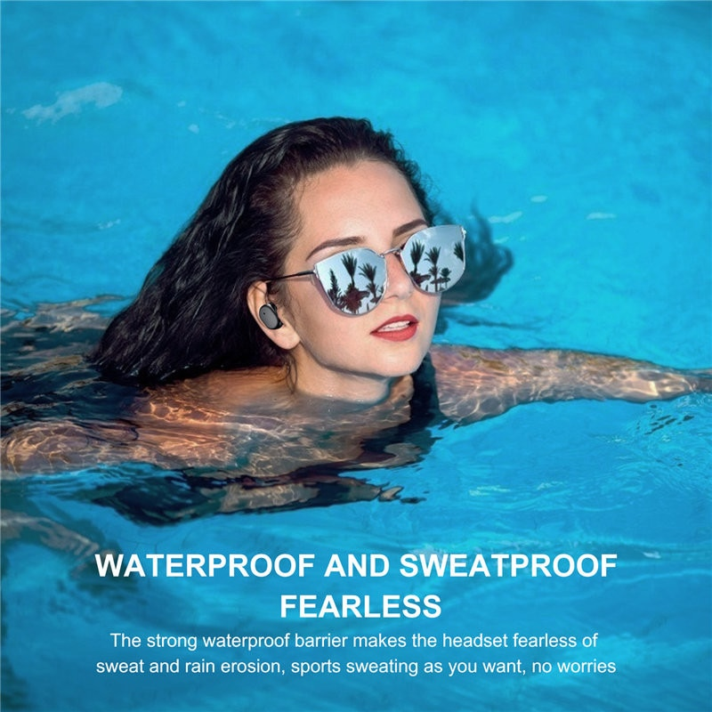 Smart Touch Portable Bluetooth Headset Long Battery Life Audiophile  Wireless Earphoes Waterproof Sports Earbuds with Micphone enlarge