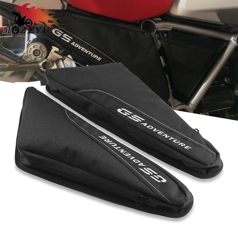 Nylon impermeable a prueba de agua de la motocicleta del marco bolsa de herramientas para BMW R1200GS / R1250GS AVENTURA 2019-2020 R1200 R / RS R1250 R / RS R 1200gs