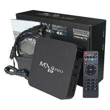4K HD 3D TV Box Android Smart TV Box 2.4G WiFi WLAN Brazil Home Remote Control Google Play Youtube M