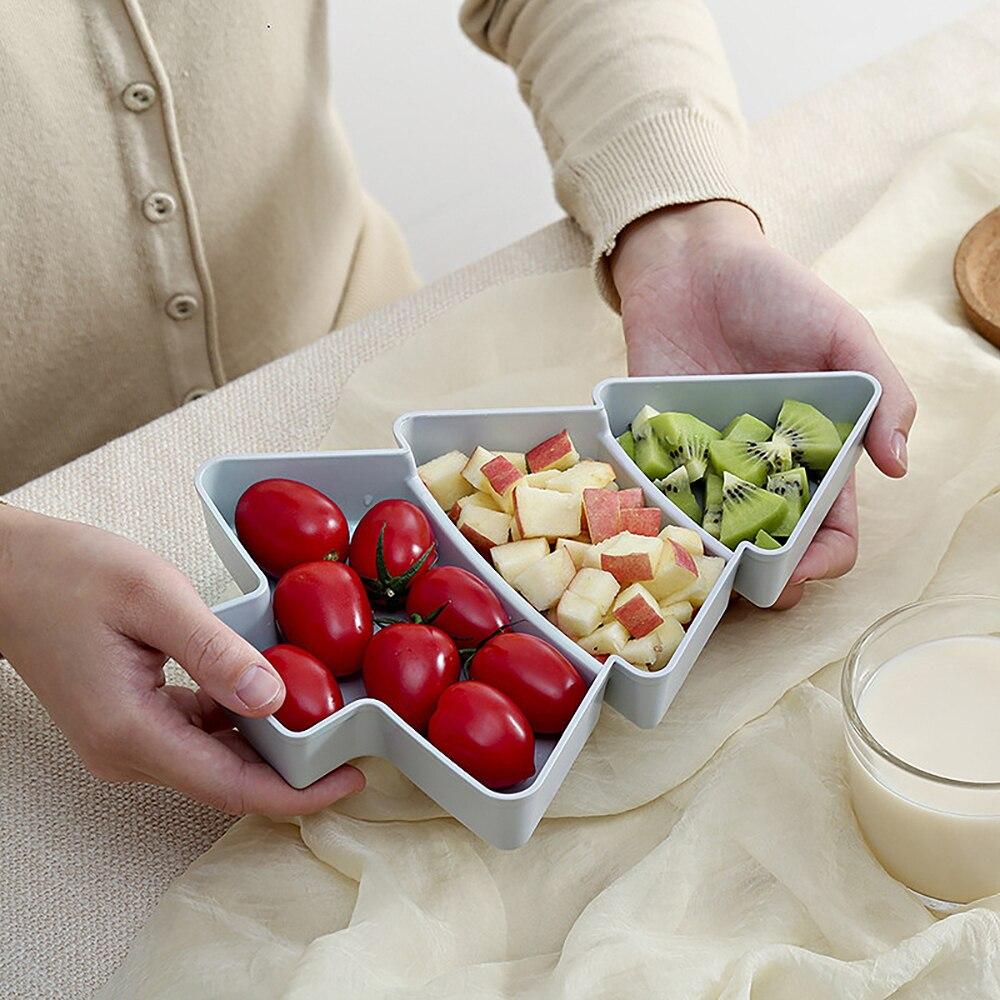Оригинальная Стиль Форма ленивый миска для снеков Пластик двойные слои коробка для хранения еды для перекуса чаша тарелка для фруктов с держателем для мобильного телефона с фруктами-3