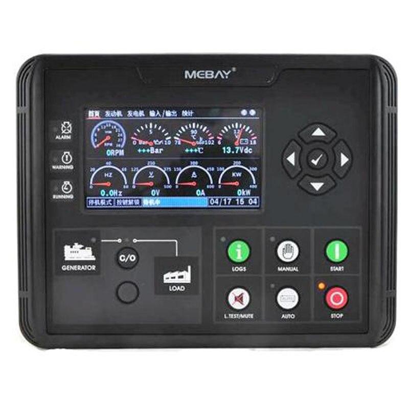 Dc60d dc62d dc60dr dc62dr gerador conjunto controlador 4.3 polegada display lcd para diesel/gasolina/gás genset parâmetros monitor