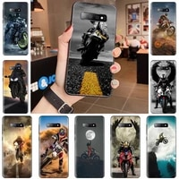 moto cross motorcycle sports phone case for samsung galaxy s5 s6 s7 s8 s9 s10 s10e s20 edge plus lite shell cover funda