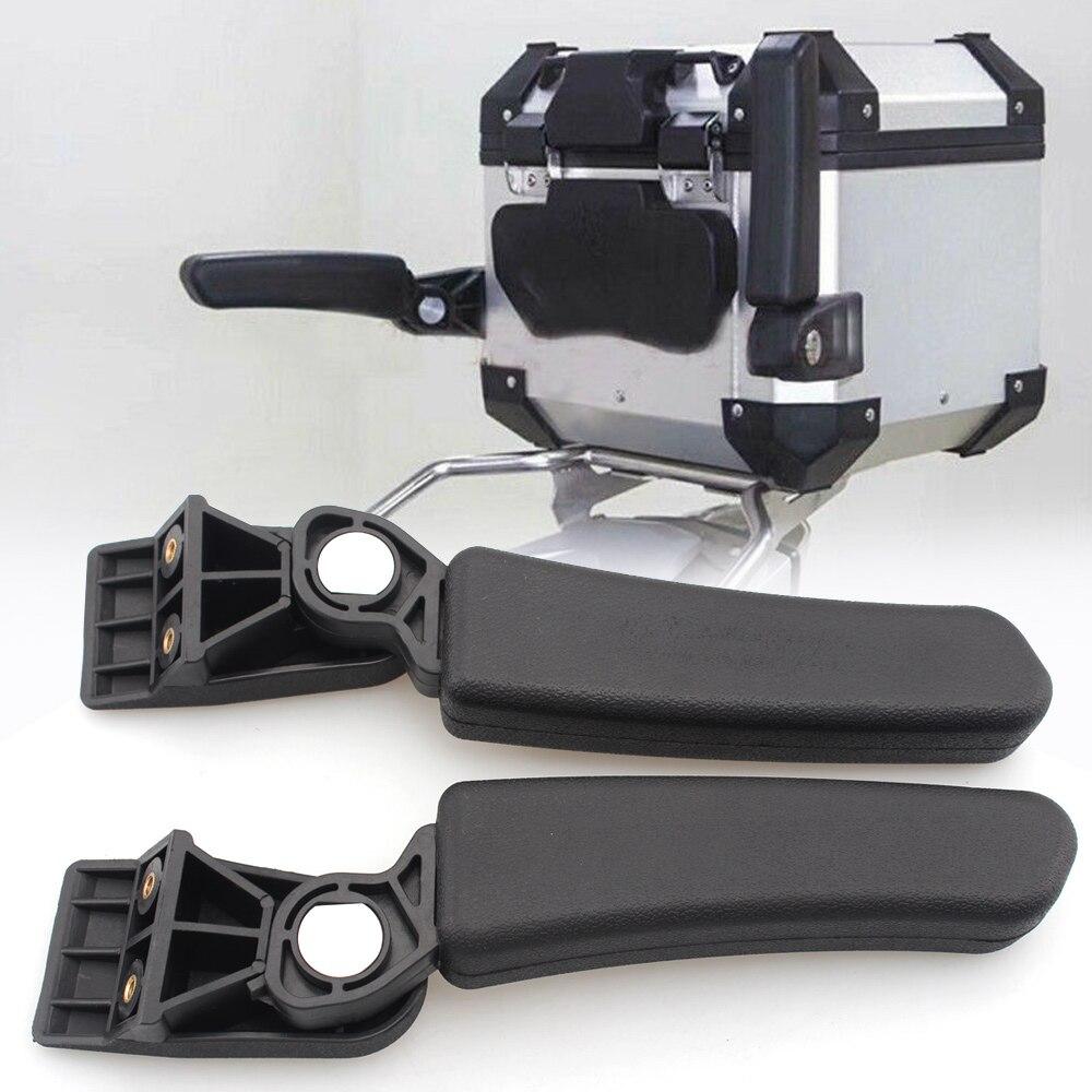 Reposabrazos de maletero ajustable para motocicleta para BMW R1200GS F800GS F700 650GS ADV, caja trasera, bolsa de maletero para CRF1000 África, doble Multistrada