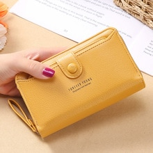 Wallet Women 2022 Lady Short Wallets Clutch bag Money Purses Small Fold Leather Female Coin Purse Ca