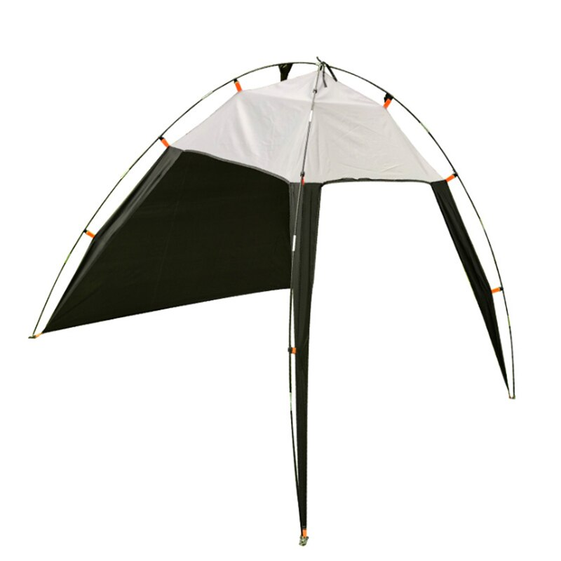 Toldo portátil de toldo para acampar, pesca, triangular, playa, carpa para exteriores a prueba de viento, toldo de toldo UV para verano, pérgola para 5-8 personas