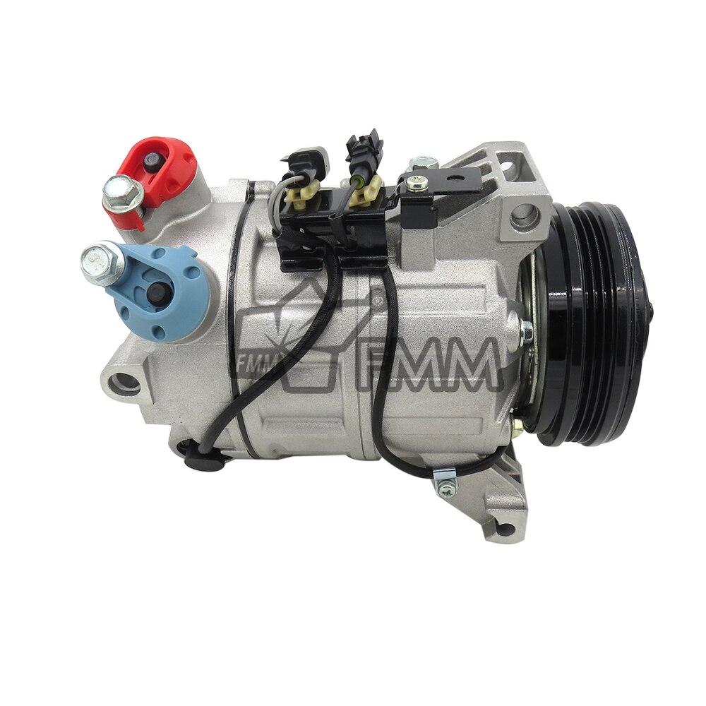 AC Part For Volvo S60 V60 XC60 V70 XC70 Auto ac compressor 6906223 P31315453 31366155 31332386  016128071B4 enlarge