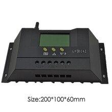 Módulo eletrônico do regulador de tensão do regulador de corrente cm3024z 12 v 24 v 30a da tensão do controlador de carga do painel solar do lcd