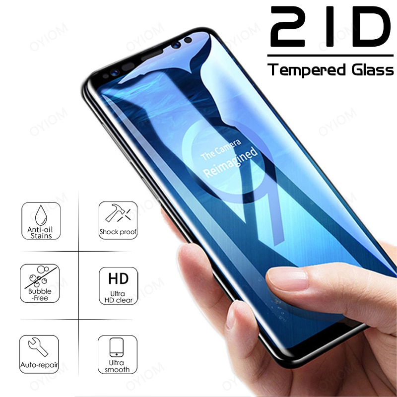 Tempered Glass For Samsung Galaxy S20 S10 S9 S8 Plus Lite Screen Protector A20 A30 A32 A40 A50 A51 A