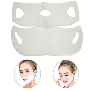 New Hydrogel Lifting Facial Mask V Shape Face Slim Chin Neck Lift Facial Slimming Bandage Mask Skin Care Tool