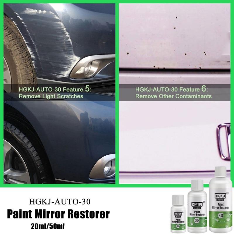 HGKJ-AUTO-20/50ML Cat Paint Mirror Restorer Automotive Paint Mirror Reducing Agent Scratch Repair Ca