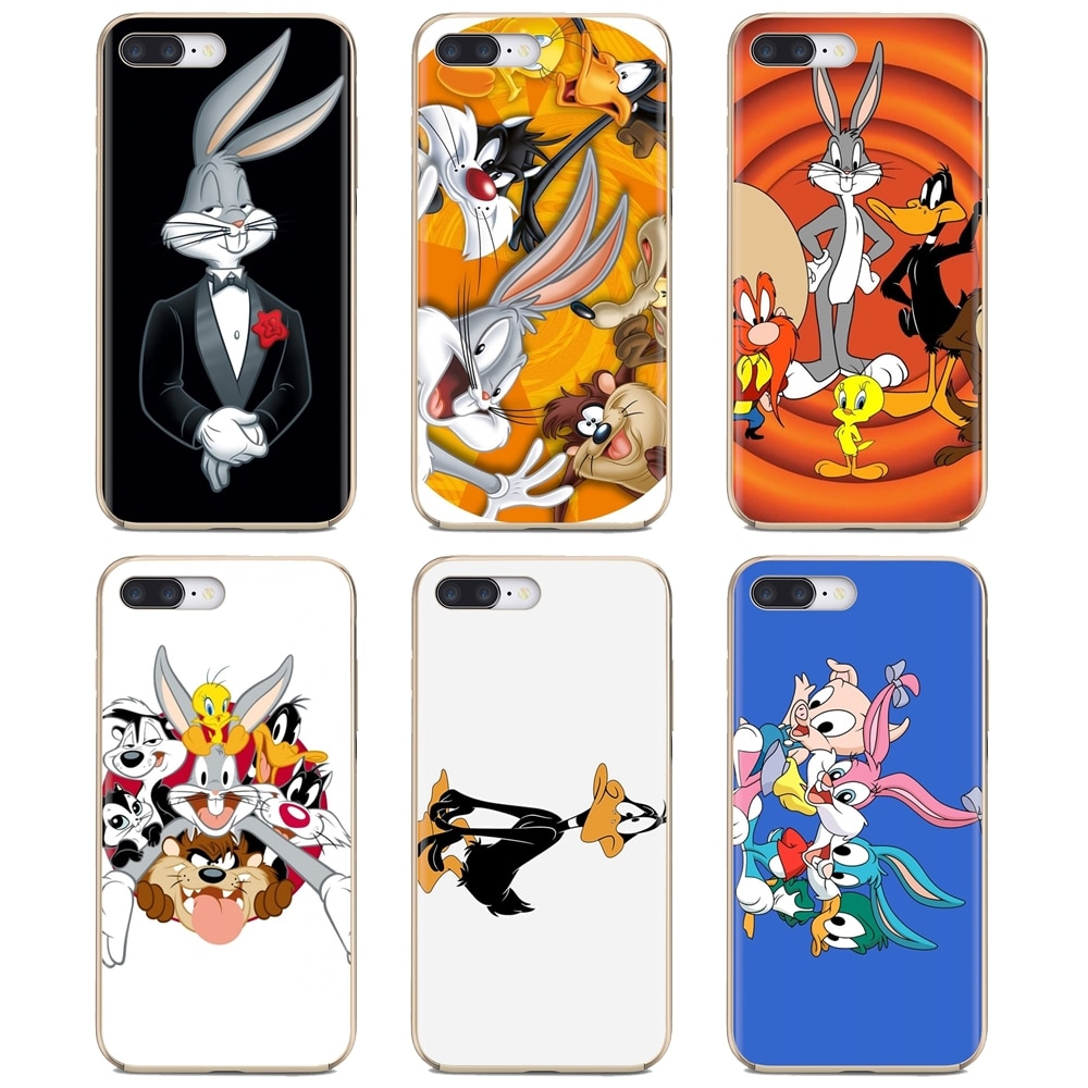 Fundas blandas Looney Toons para Motorola Moto G G2 G3 X4 E4 E5 G5 G5S G6 Z Z2 Z3 C jugar más