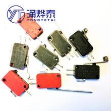 YYT 5 PIÈCES 5A250V KW7-0-1-2-3-5-9Micro commutateur V-15 151 152 153 154 155 156 3C25 2C25 1C25 Momentané Micro Interrupteur de fin de Course