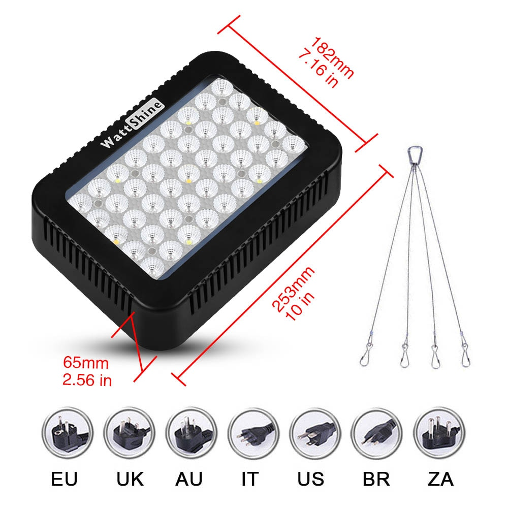 Led Plant light Grow Lights Full Spectrum Flower Seeds Growing Lamp for Indoor Greenhouse Grow Tent Phytolamp For plants Plants enlarge