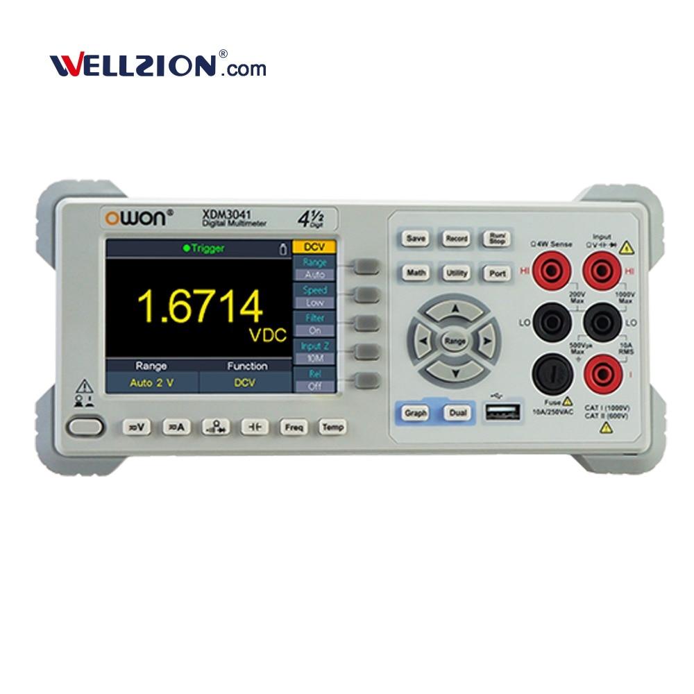 XDM3041,4 1/2 cyfry opcja Wifi transmisji multimetr cyfrowy