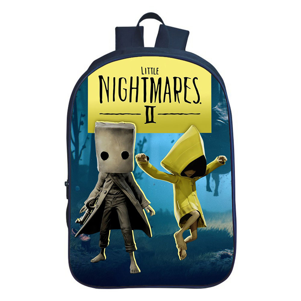 Рюкзак для маленьких игр с кошмарами, Классный рюкзак для мальчиков, двухслойный рюкзак, школьный рюкзак для подростков, унисекс рюкзак, рюк...