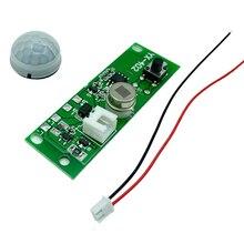 3.7V DIY 태양 광 회로 기판 제어 센서 모듈 정원 야간 조명 컨트롤러 적외선 태양 램프 패널 키트