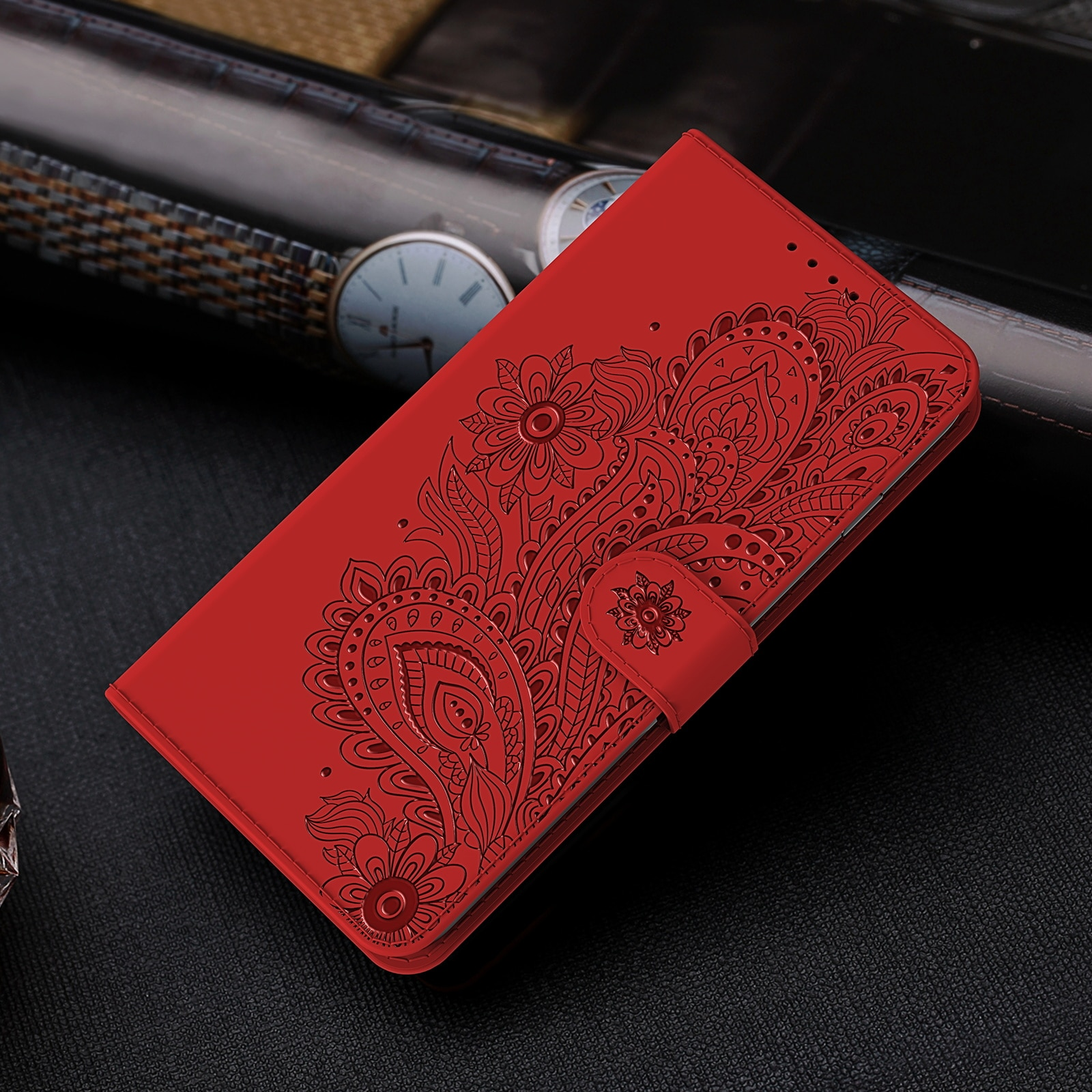 P Smart 2021 Embossing Case for Huawei Honor 9 10 20 Lite 10i 20i Play 8A Pro Flip Cover Card Pocket Kickstand Phone Fundas