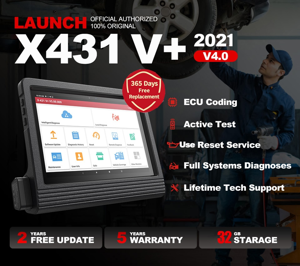Launch X431 V Plus V+ 10