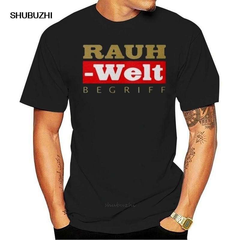 Camiseta de manga corta para hombre, copia de Minty Mint RWB Rauh Welt Begriff Logo, Camiseta clásica (1), camiseta para mujer